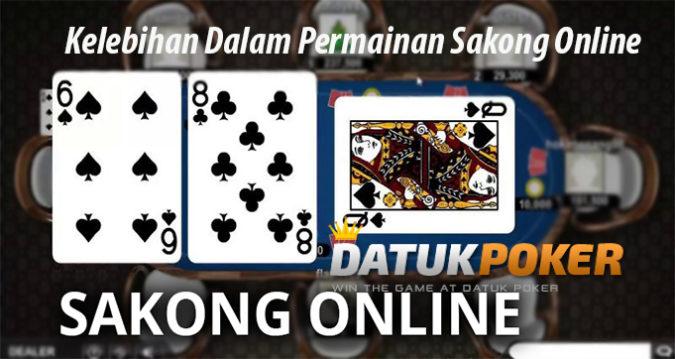 Kelebihan Dalam Permainan Sakong Online